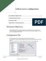 ProSteel Server Configuration