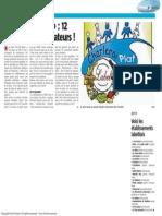 La Nouvelle Gazette - Plat Net Santé 12 nouveaux restaurateurs - 25.01.2014