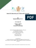 Manual Educacion Para Desarrollo Sostenible