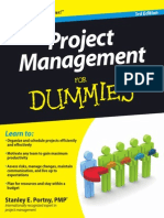 Project Management for Dummies 3rd Edition V413HAV