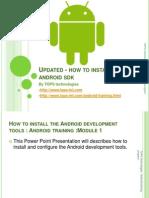 How to install Android SDK - TOPS Technologies Dehradun