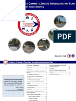 NJDOT Complete Streets Implementation Guide