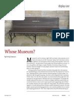 DAWSON Whose Museum
