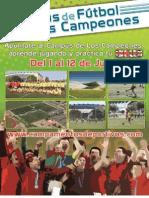 Dossier Campus de Los Campeones 2014 Baja