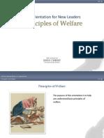 Welfare Principles