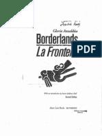 (Gloria Anzaldua) - Borderlands La Frontera