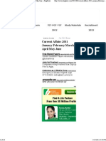 Current Affairs 2011 January February March April May June « JbigDeaL