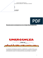 Ejemplo de Un Plan de Emergencia