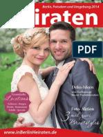 Ausgabe Heiraten in Berlin - 2014
