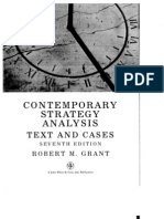 Contemporary Strategy Analysis Robert M Grant 7th Ed Ch 6