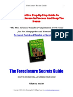 The Foreclosure Secrets Guide