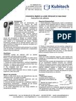 Manual Termometru Infrarosu Fara Contact Gm300