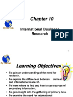 International Busienss Research