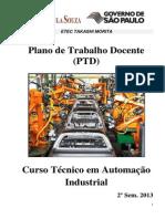 PTD - ETM - AUTOMACAO 2º SEM 2013