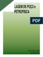 AULA 1- (PERFILAGEM DE POÇO e PETROFÍSICA