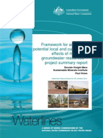 59 Local and Cumulative Effects on Mining on Groundwater Resources