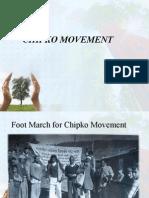 Chipko Movement- Final