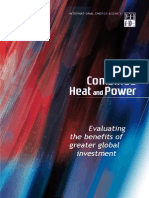 Combined Heat and Power (CHP)_IEA