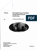 """Strengthening of bridges using external post-tensioning"", 2nd Conference of Eastern Asia Society for Transportation"