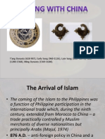 Early Contacts and Islam