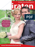Ausgabe Heiraten in Dresden - Magazin 2014