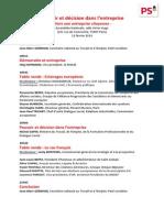 Pouvoir et décision dans l'entreprise - programme .pdf