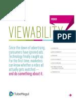 TubeMogul Viewability WhitePaper US Jan2014