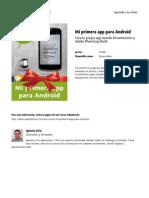 Mi Primera App Para Android