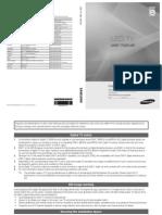 Samsund Ue46c8000 User Manual