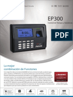 Anviz-EP300-Catalogo en Español