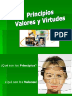 5 Principios, Valores y Virtudes