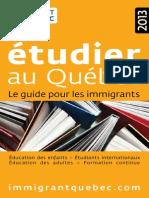 Guide Etudes 2013