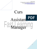 Curs Assistant Manager_Lectia 07