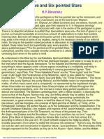 Blavatsky, H.P. - The Five & Six Pointed Stars
