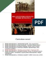 Curs 5 - Relatii Internationale - Teorie Si Politici