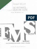 Jeux du rythmes … et jeux des cles 2