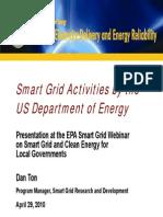 smart grid activity