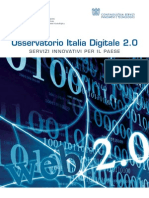 Osservatorio Italia Digitale 2.0 Executive Summary