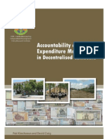 Accountability and Public Expenditure Management in Decentralised Cambodia