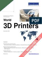 World 3D Printers