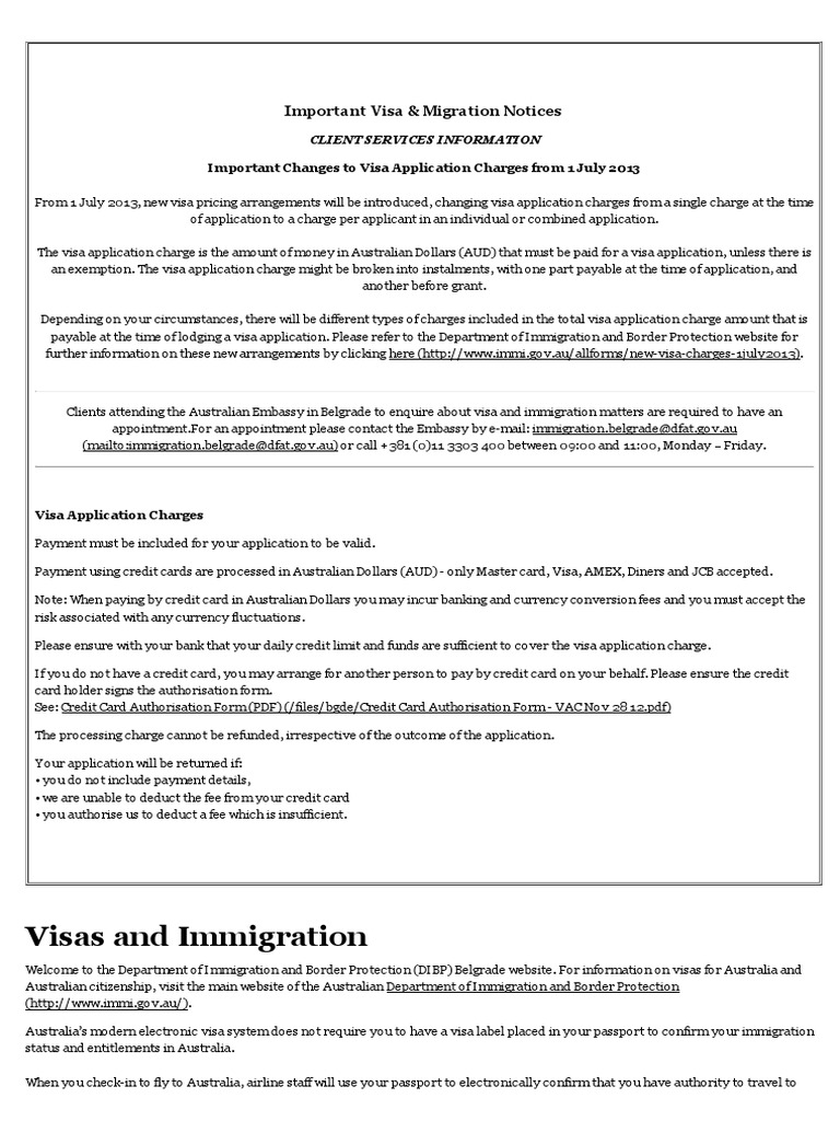 Migration card is an important document