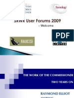 User Forum Presentations Combined