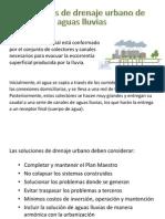 4.2 Redes de Drenaje Urbano