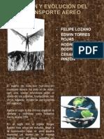 Origen y Evolucion Del Transporte Aereo (1)