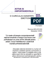 1 O Curricula a Sanatatii Emotionale
