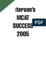 MCAT-Peterson's MCAT Success