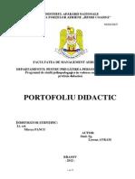 Portofoliu Didactic
