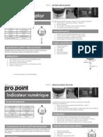 Pro.point Digital Indicator - 8372112_manual
