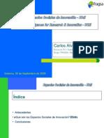 Espacios Sociales de Innovación para el Desarrollo Rural. Sr. Carlos Álvarez González