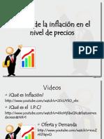 La inflación y los Precios